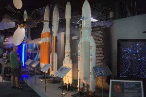 Colorado Springs Space Foundation's Discovery Center Rocket Display