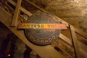 cave of the winds - lantern tour sign discovery tour
