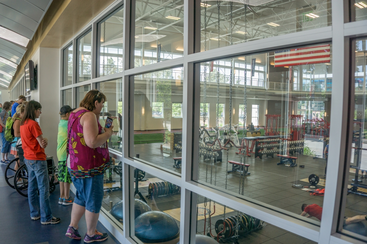 Olympic Training Center - weight gym